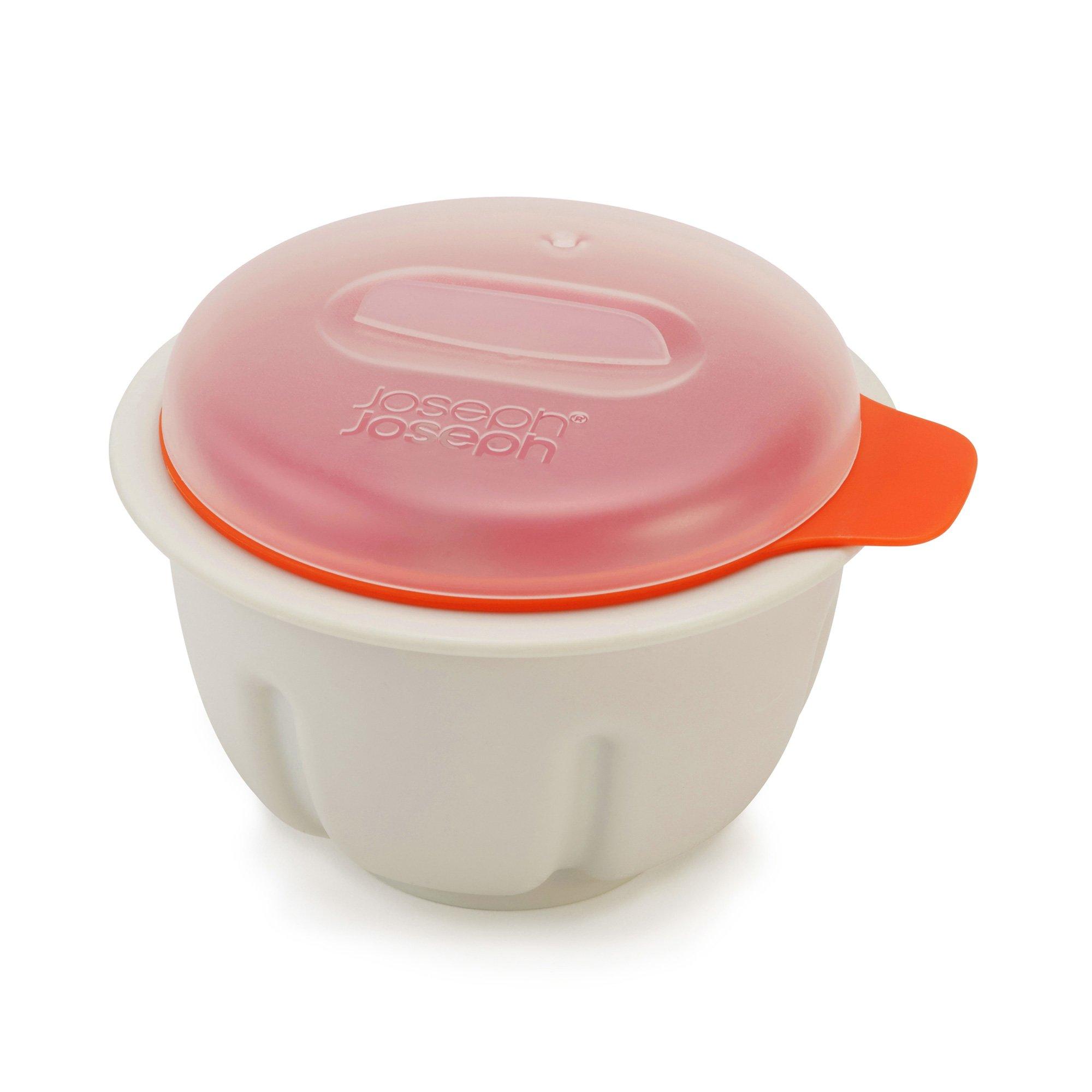 Joseph Joseph 45019 M-Cuisine Microwave Egg Poacher, Orange