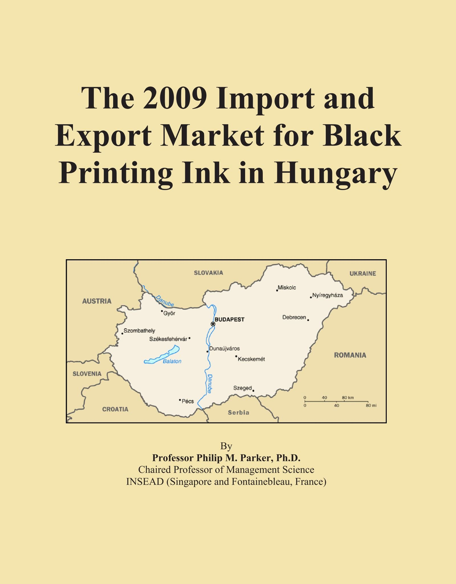 The 2009 Import and Export Market for Black Printing Ink in Hungary pdf epub