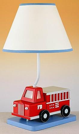 Superior Cal Lighting BO 5666 2 Light Fire Truck Table Light