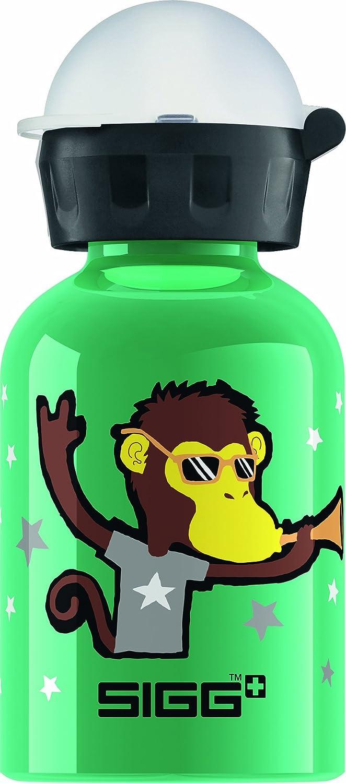Sigg Trinkflasche Go Team Monkey Elephant, Grün, 0.3 Liter, 8440.80