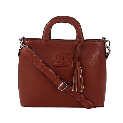 1b421d864442 Amazon.com  Clearance Sale Giant Roots Women s Designer Top Handle  Crossbody Handbag With Tassel  Shoes