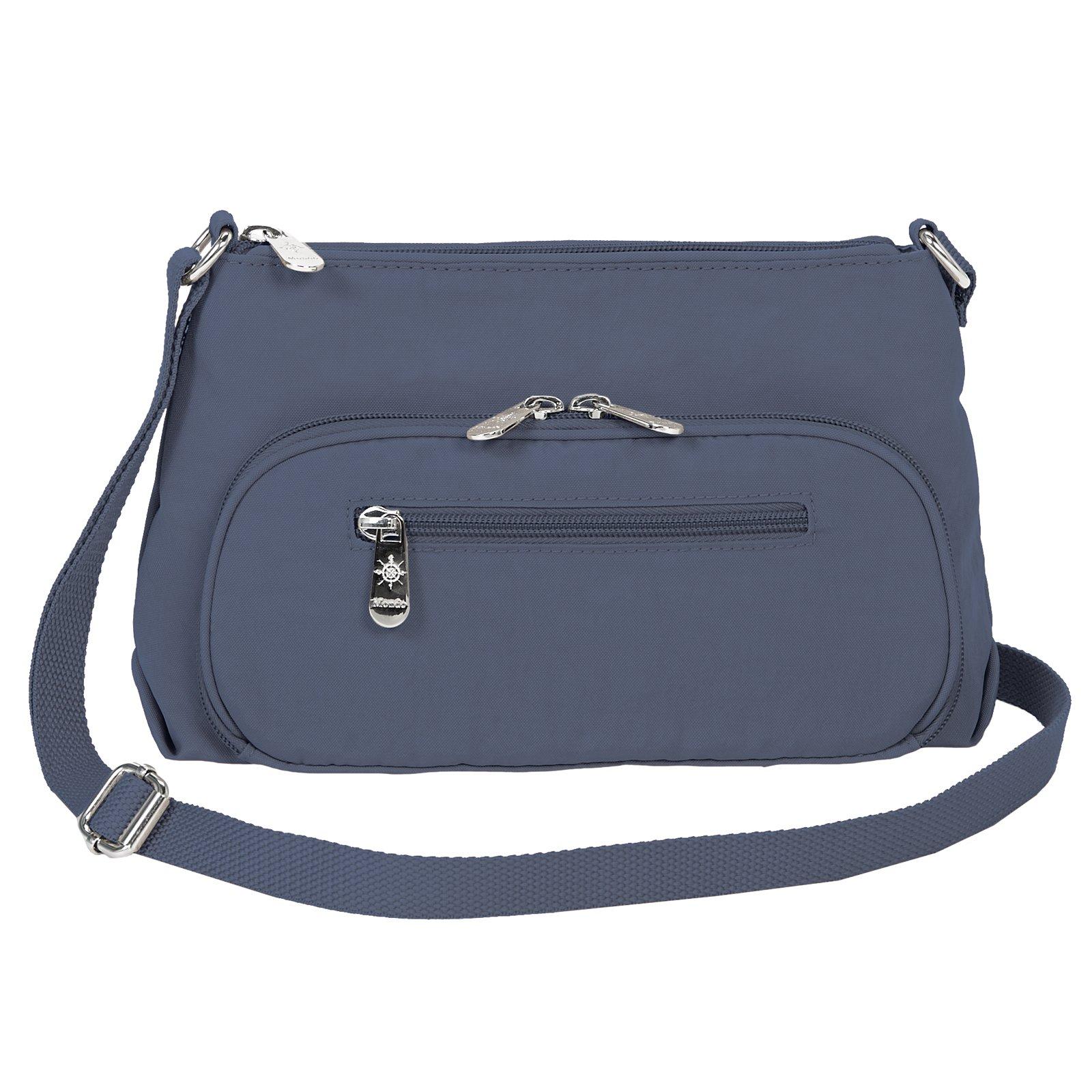 Mondo Nylon Small Crossbody Lightweight Multi Function Travel Handbag