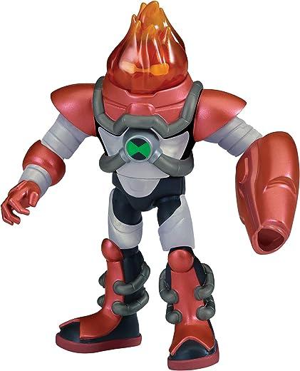 Ben 10 Armored Heatblast Figure