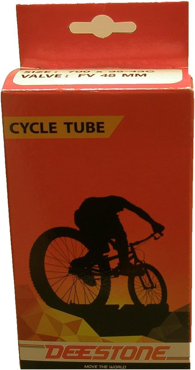 Camara de aire Rueda Neumatico de Bicicleta de 700 x 19 a 23C 48 mm Presta 3203: Amazon.es: Deportes y aire libre
