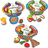 Learning Resources New Sprouts Breakfast/Lunch and Dinner Baskets