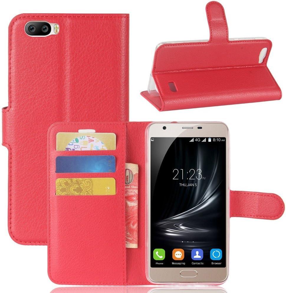 Guran® Funda de Cuero PU Para Blackview A9 Pro Smartphone Función ...