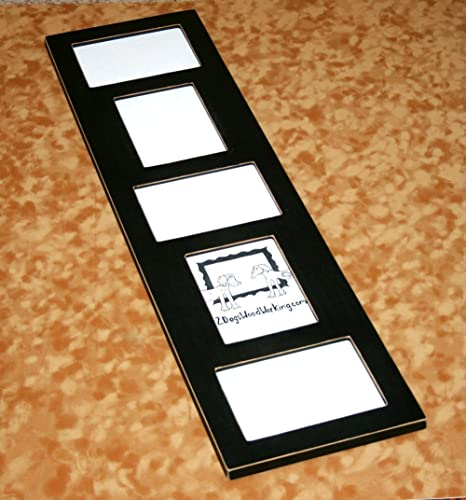 Amazoncom Picture Frame Collage 5 4x6 Mixed Horizontal And