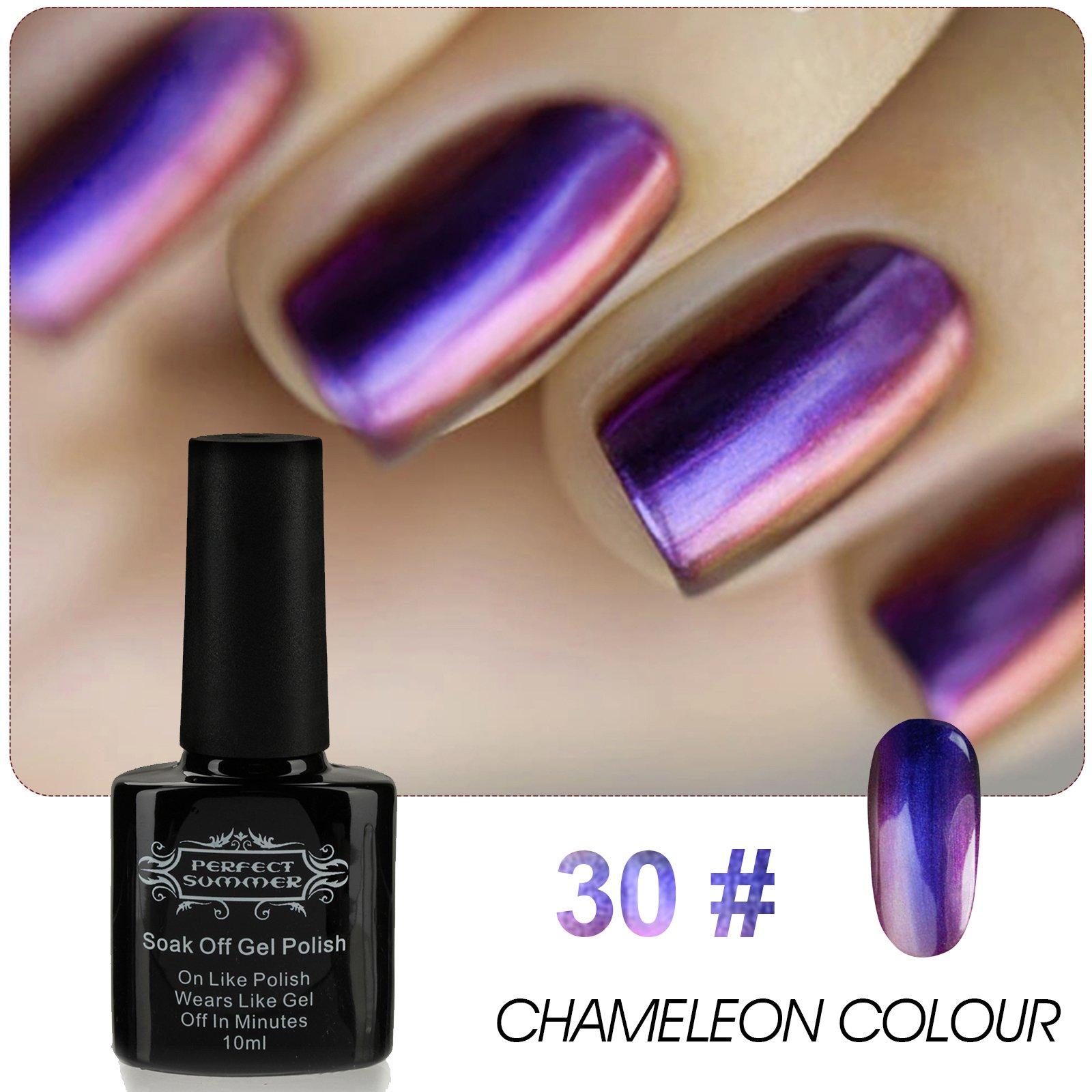 Amazon.com : Perfect Summer 10ml Artistic Nails Lacquers Chameleon ...