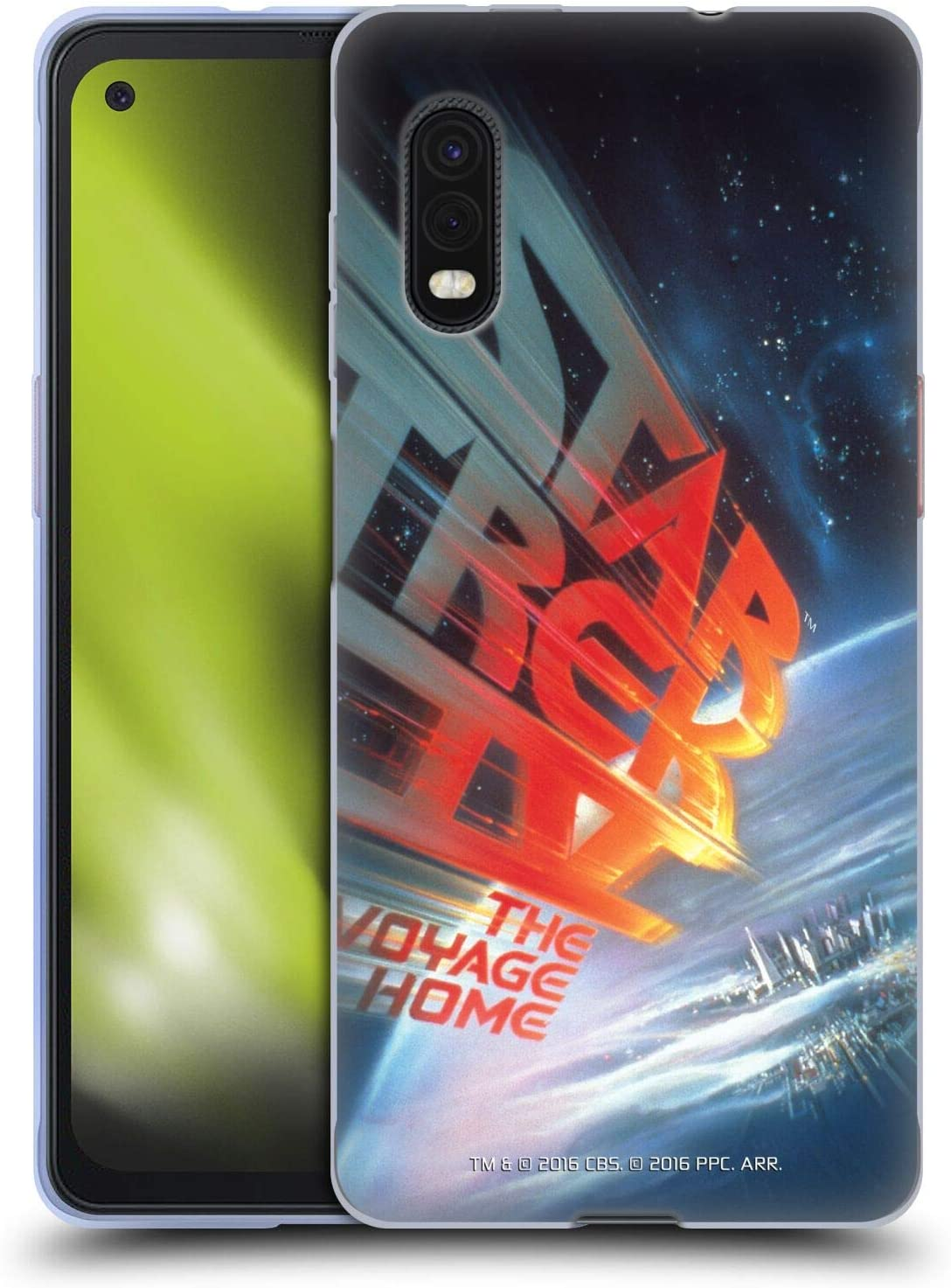 Head Case Designs Officially Licensed Star Trek The Voyage Home Movie Posters TOS Soft Gel Case Compatible with Samsung Galaxy Xcover Pro