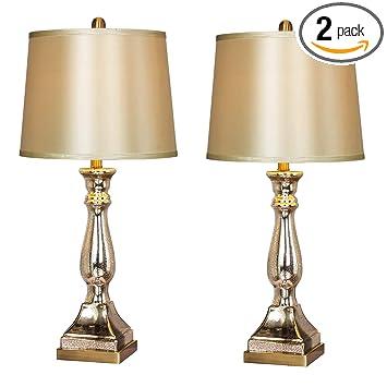 Amazon.com: Martin Richard W-5160-2PK - Lámpara de mesa ...
