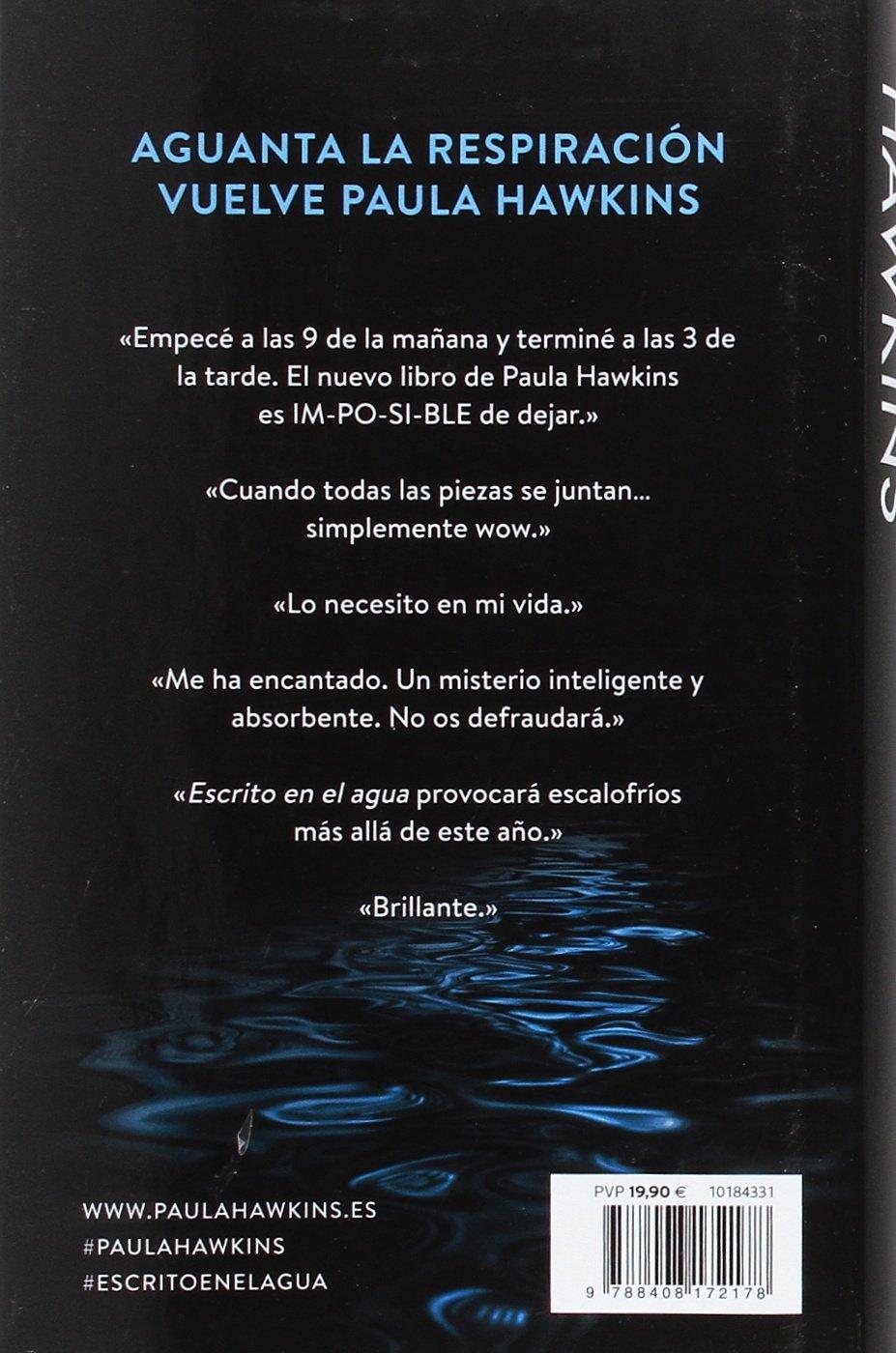 Escrito en el agua: 1 (Planeta Internacional): Amazon.es: Hawkins ...