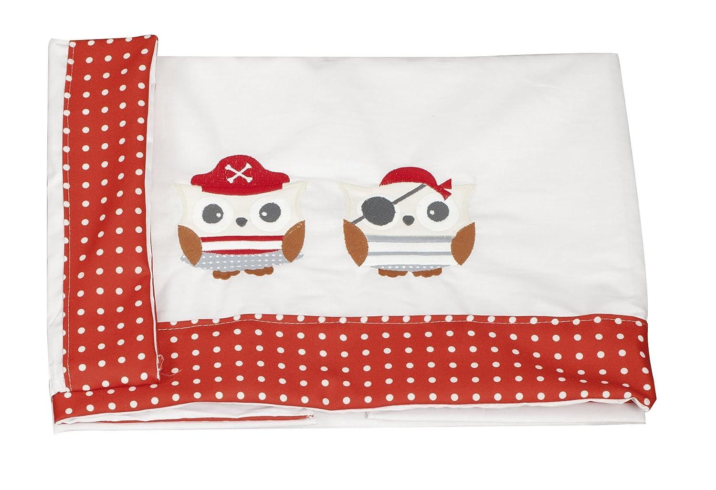 Babyline Piratas - Juego de sábanas de minicuna