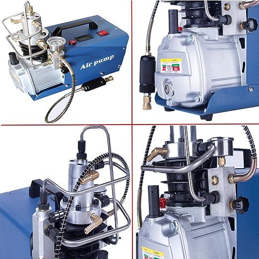 Alta presión 30 mpa Compresor eléctrico bomba PCP Bomba de aire eléctrica 110 V: Amazon.es: Hogar
