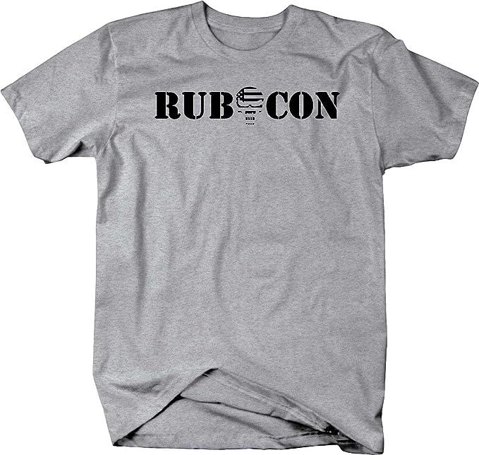 4x4 Rubicon Punisher US Flag Skull Offroad American Mens Sweatshirt