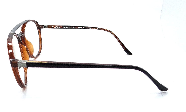 Brown Black Starck Eyes Mikli Rx Eyeglasses Frames SH3032 0005 54x18 Brown