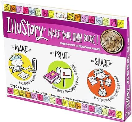 Amazon.com: Lulu Jr. Set de manualidades Illustory: Toys & Games