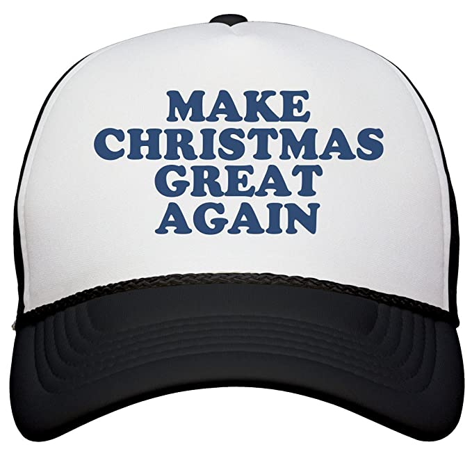 303e9468f63d6 Amazon.com  FUNNYSHIRTS.ORG Make Christmas Great Again Hat  Snapback ...