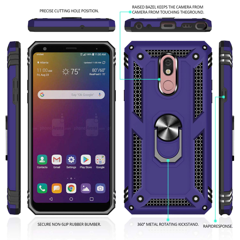 Amazon.com: Funda para LG Stylo 5, LG Stylo 5 con protector ...