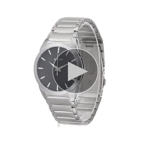 Bulova Men's Stainless Steel Dress Watch