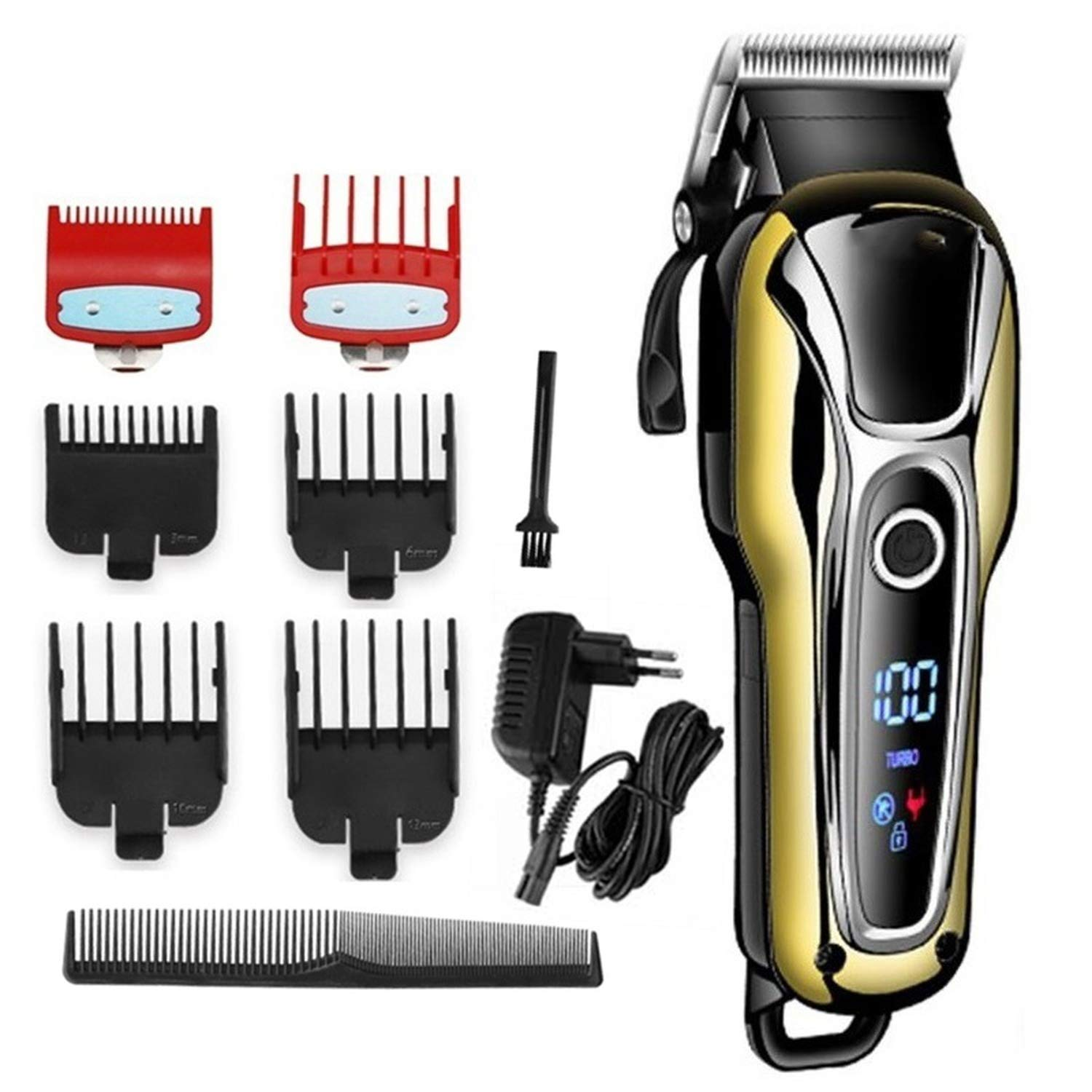 Amazon.com: Barber shop hair clipper professional hair trimmer for