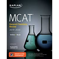 MCAT General Chemistry Review 2019-2020: Online + Book (Kaplan Test Prep)