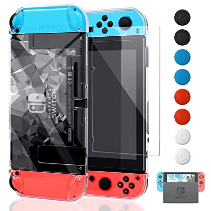 FYOUNG - Carcasa para Nintendo Switch con Pantalla Protectora ...