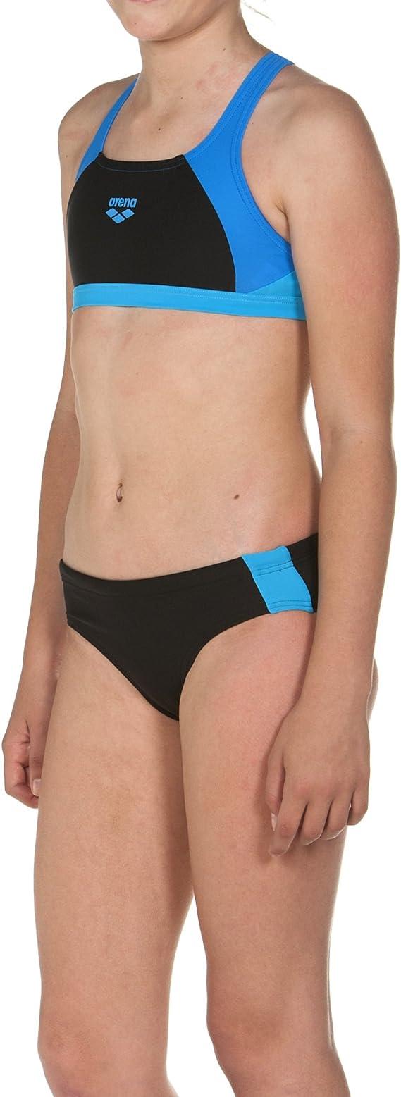 arena M/ädchen Sport Bikini Ren 000994 Schnelltrocknend, UV-Schutz UPF 50+, Chlor-//Salzwasserbest/ändig