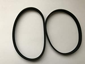 GZDwestcoastre Supplies for 2 New Belts Hoover Nanolite Nano Lite Vacuum Series ZH120 U2440-900W 04080002
