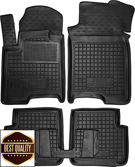 Amazon Com Custom Fit All Weather Floor Liners Carmats Black