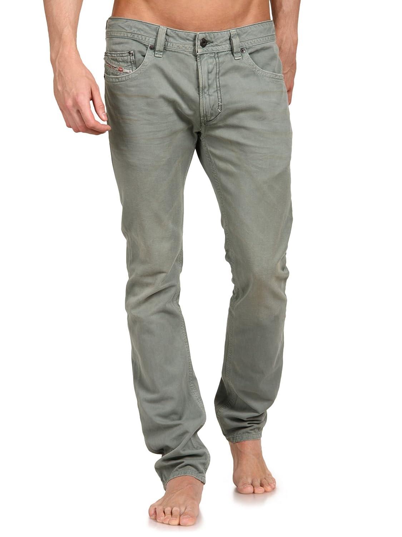 27ab09b9 Amazon.com: Diesel Men's Thavar 0810w Skinny Jeans Green: Clothing