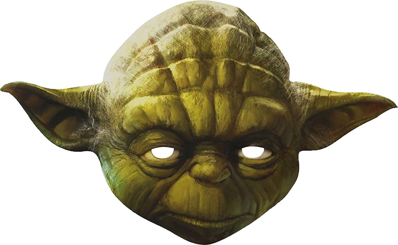 Faschingsfete Star Wars Yoda Maske, Grün: Amazon.de: Spielzeug
