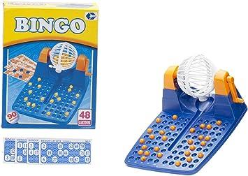 Cosas 646014 - Bingo - 48 Cartones - 90 Numeros -: Amazon.es: Juguetes y juegos