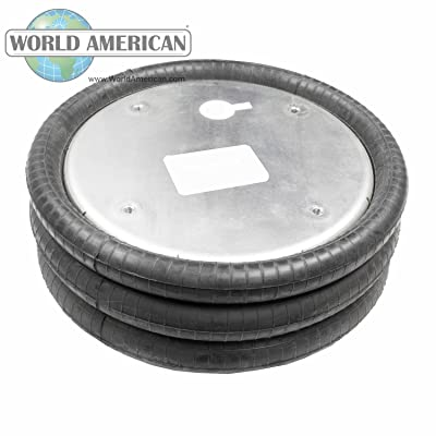 World American WA01-7808C Air Spring (CONVOLUTED STYLE): Automotive