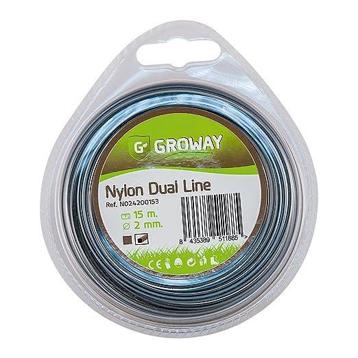 Groway Dual Line - Nylon para desbrozadora en blister ...