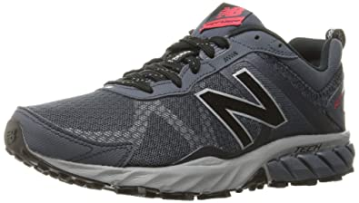 New Balance Men\u0027s MT610V5 M Trail Running Shoes, Grey, 7.5 4E US