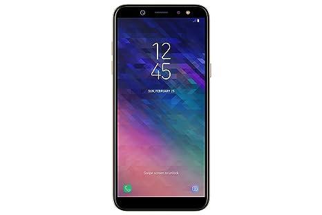 Samsung Galaxy A6 (2018) Smartphone, Gold, 32 GB Espandibili, Dual ... 38265dd1614