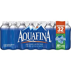 Aquafina Purified Drinking Water (16.9 oz., 32 ct.) (pack of 2)
