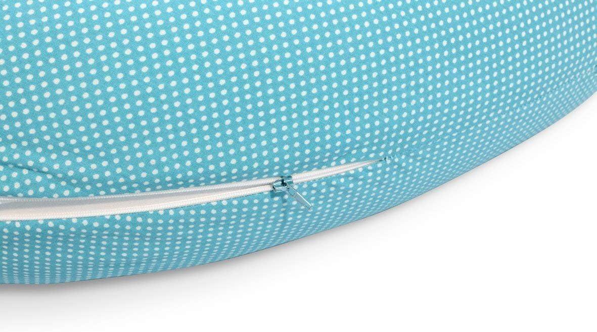 ourson de lavage microbilles 3-D EPS sans substances nocives Sei Design Coussin dallaitement de grossesse 170 x 30 cm Garnissage souple comme le sable et pourtant l/éger comme les plumes