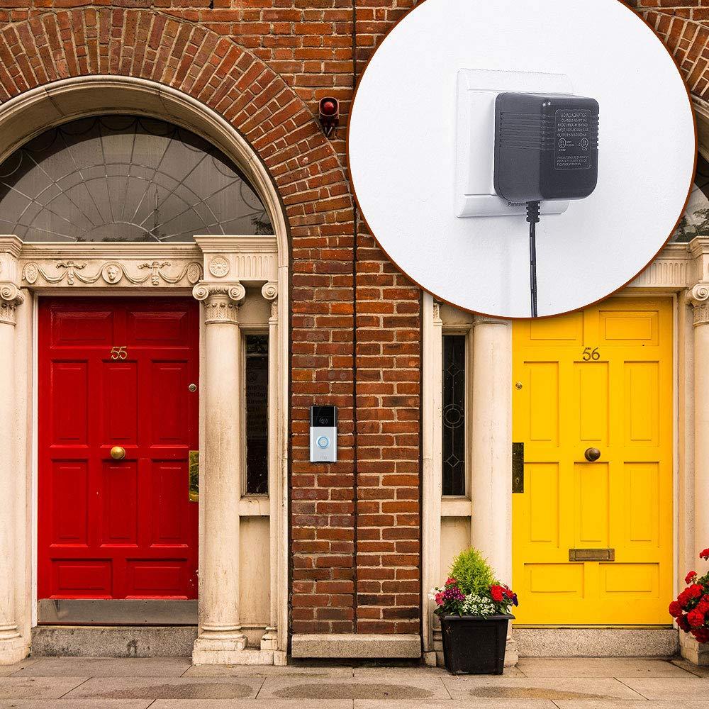 Angle Adjustment Adapter Mounting Plate Bracket Wedge Kit HOLACA Doorbell Bracket Mount for Ring Video Doorbell Pro