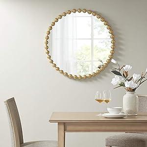 MADISON PARK SIGNATURE Marlowe Decor Mirror Gold See Below