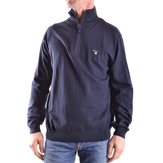 4dea5555b6 83103405 Gant Maglione mezza zip Blu XL Uomo: Amazon.it: Abbigliamento