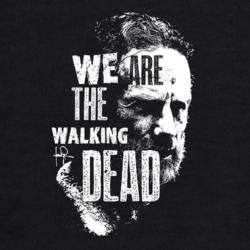 82c6819f8 Amazon.com: Rick Grimes We Are The Walking Dead Women Graphic Tee T-shirt  Shirt: Handmade