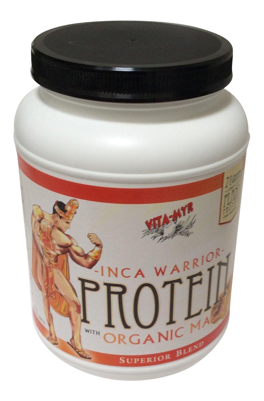 Vanilla INCA WARRIOR PROTEIN w/Organic Maca 2 Lb. by Vitamyr Natural Products