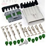 Aptiv//Delphi GT-280 Series 25 Amps Sealed Connector Set Wire Gauge 12 14 16 AWG 14-Pins