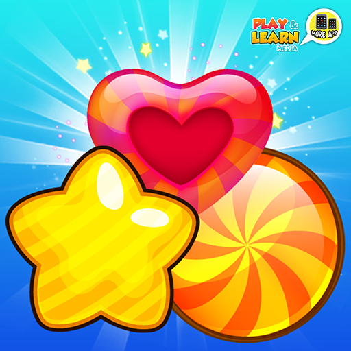 Candy Friends Blast - crush and match candies to clear same candy friends, challenging fun level up match 3 puzzle games!