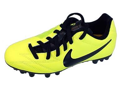 Nike Jr T90 Shoot IV Artificial Grass Cleats [Volt] (2Y)