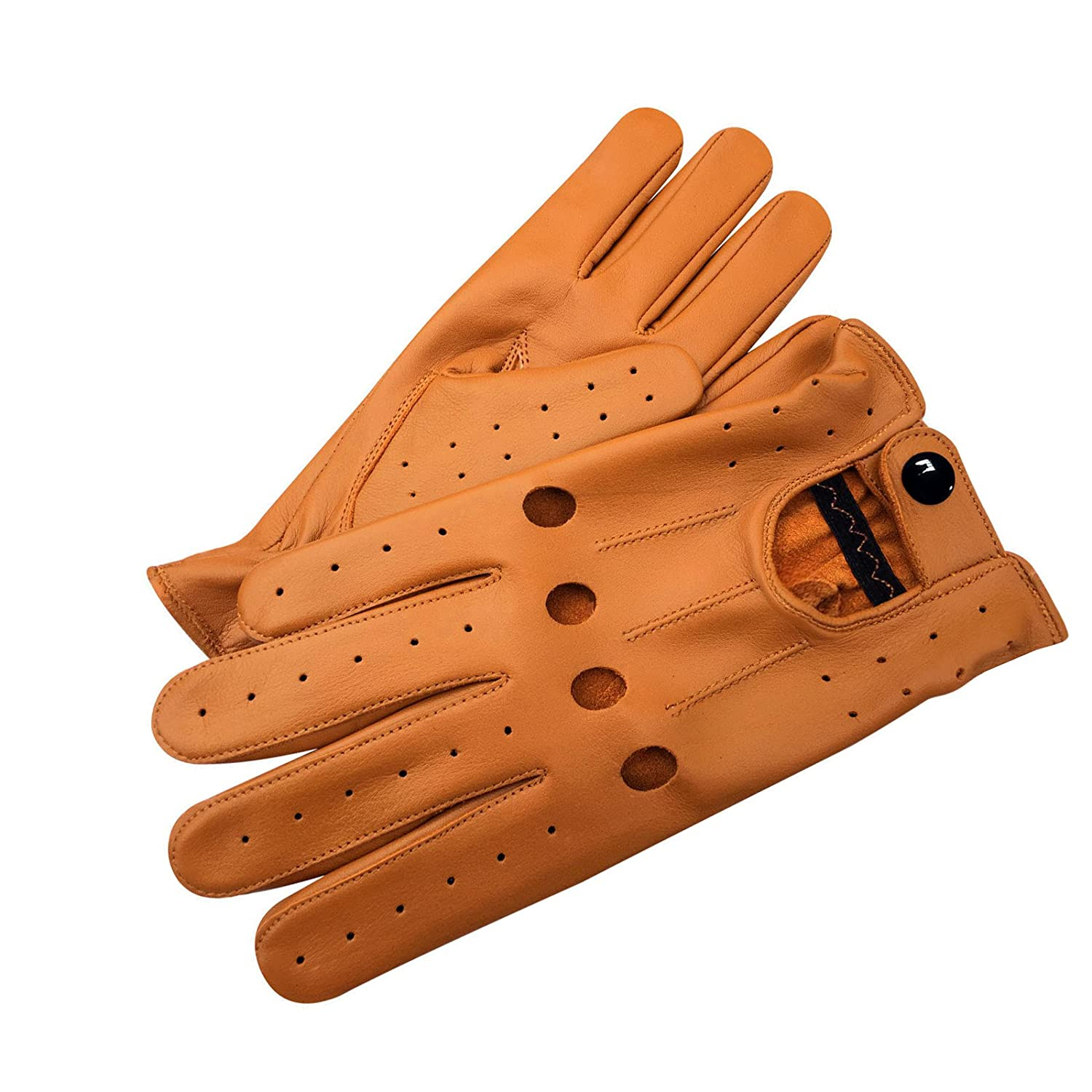 DESIGNER J WILSON MENS CLASSIC DRIVING GLOVES CHAUFFEUR SOFT LAMBSKIN LEATHER DRESS FASHION MOTOR BIKE GLOVE VINTAGE RETRO STYLE GIFT BOXED