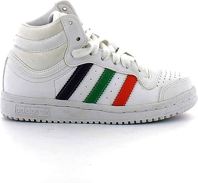 adidas Top Ten Hi K g51556-kid niño Zapatos Color Blanco: Amazon.es: Zapatos y complementos