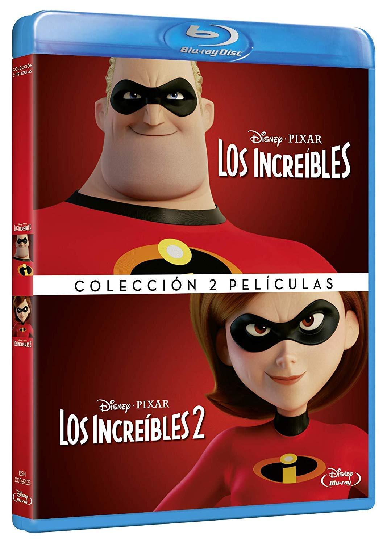 Pack Los Increibles 1+2 [Blu-ray]: Amazon.es: Personajes Animados, Brad Bird, Personajes Animados: Cine y Series TV