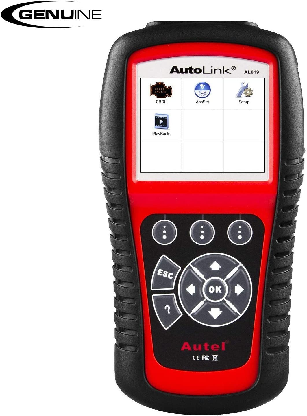Autel AL619 Autolink Engine/ABS/SRS Auto OBD2 Scanner Car Code Reader Automotive Diagnostic Tool